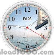 Free Organizer Clock screenshot